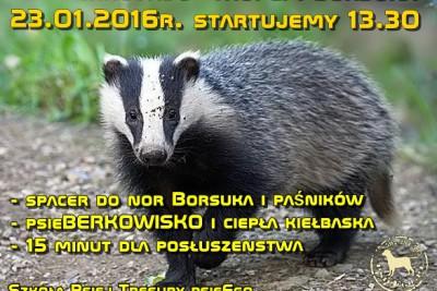 psieBERKOWISKO tropem Borsuka