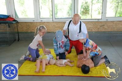 ABC udzielania pierwszej pomocy na Lekcji na CZTERY ŁAPY
