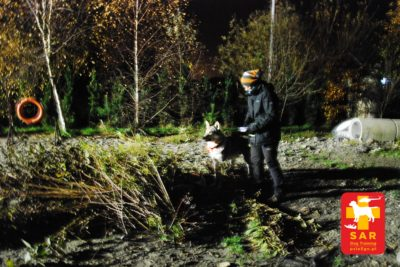 Search and Rescue Dog Training psieEgo