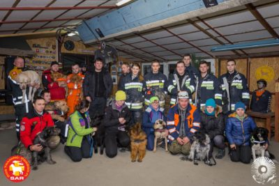 Search and Rescue Dog Training GRUZY 30.12.17
