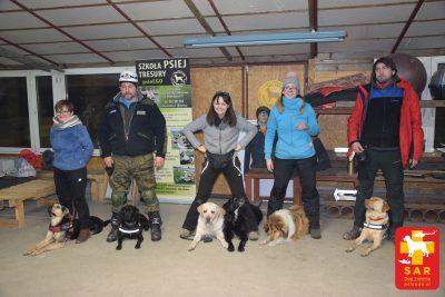 Search and Rescue Dog Training OSZCZEKANIE psieEgo