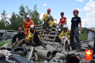 Search and Rescue Dog Training 16-17.06.18