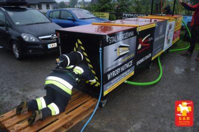 Trenażer SAR DT – tunel sensoryczny dla strażaków.