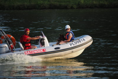 Zapraszamy na Search & Rescue Dog Training psieEgo WODA