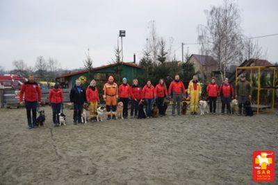 II dzień SAR Dog Training – GRS OSP Łódź – Jędrzejów