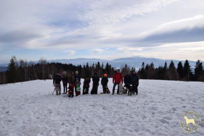 Trening kondycyjny na szczyt Leskowca 919 m.n.p.m