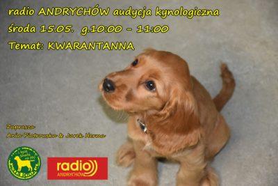 Archiwalna audycja kynologiczną – radio ANDRYCHÓW