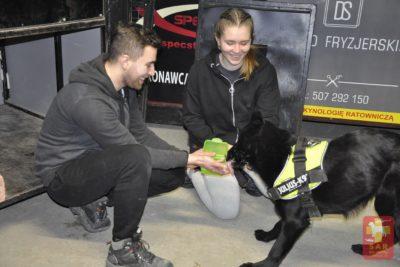 SAR Dog Training dla Kandydatów na Pozorantów.